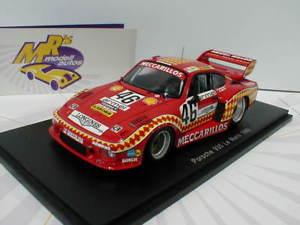 【送料無料】模型車 スポーツカー スパークポルシェルマンspark s5501 porsche 935 46 24h le mans 1980haldibeguinmerl 143