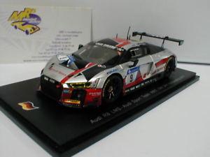 【送料無料】模型車 スポーツカー スパークアウディニュルブルクリンクspark sg299 audi r8 lms 9 24h nrburgring 2017 nmller mfssler 143