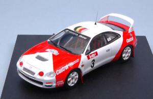 【送料無料】模型車 スポーツカー トヨタセリカデスパモデルtoyota celica st205 3rd boucles de spa 1996 verreydtjamar no light 143 model