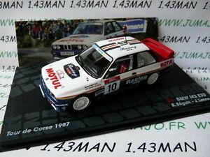 【送料無料】模型車 スポーツカー mネットワークラリーイタリアモチュールコルシカrit35m car 143 ixo altaya rally italy bmw m3 motul e30 crush corse 1987