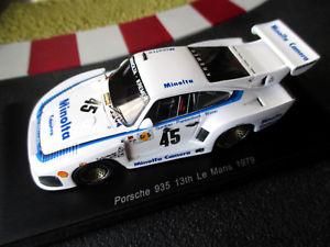 【送料無料】模型車 スポーツカー ポルシェ#ゲレンデルマンスパーク143 porsche 935 45 pistegurdjianwinter 13th 24h le mans 79 spark s5092