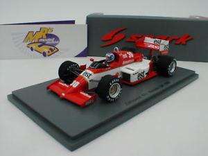 【送料無料】模型車 スポーツカー スパークモナコジョナサンパーマーspark s1873 zakspeed 841 monaco gp 1985 30 jonathan palmer 143