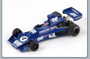 【送料無料】模型車 スポーツカー ティレル#ベルギーグランプリスパークモデルtyrrell p depailler 1975 4 belgium gp 143 spark s1646 model
