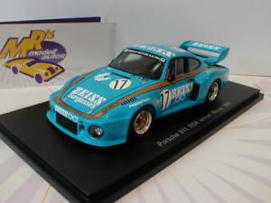 【送料無料】模型車 スポーツカー スパークポルシェマカオギアspark 43mc79 porsche 911 rsr 17 winner macau guia 1979 asylum 143