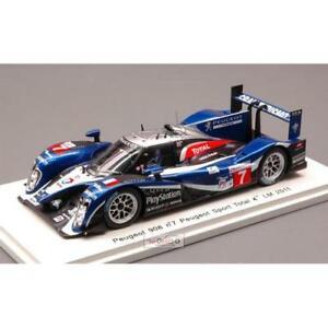 送料無料 模型車 スポーツカー プジョー#ルマンスパークpeugeot 908 7 4th le mans 2011 143uT5KFJcl13