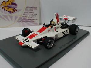 【送料無料】模型車 スポーツカー スパークスウェーデンフォーミュラspark s5674 hill gh1 22 sweden gp formula 1 1975 vern schuppan 143
