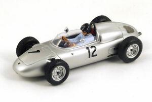 【送料無料】模型車 スポーツカー ポルシェ718d1961122フランスgp 143モデルs1865スパークモデルporsche 718 d gurney 1961 12 2nd french gp 143 model s1865 spark model