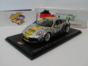 【送料無料】模型車 スポーツカー スパークポルシェグアテマラhニュルブルクリンクspark sg327 porsche 911 gt3 no 65 24 h nrburgring 2017 bleulhats 143
