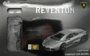 【送料無料】模型車 スポーツカー キット5pkモデルチーム143ランボルギーニreventonシルバーカーモデルproteam 143 lamborghini reventon silver assembly car model modelling kit, 5pk