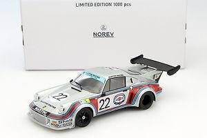 【送料無料】模型車 スポーツカー ポルシェカレラ#ルマンミュラーporsche 911 carrera rsr 21 22 2nd 24 h lemans 1974 lennep, mller 118 norev