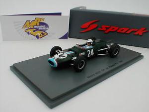 【送料無料】模型車 スポーツカー スパークジョンノベルティーspark s5410 matra ms5 24 john surteesreims gp f2 1966 143 novelty
