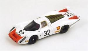 【送料無料】模型車 スポーツカー ポルシェスパークモデルporsche 908 n32 33th lm 1968 g mitterv elford 143 spark s3482 model