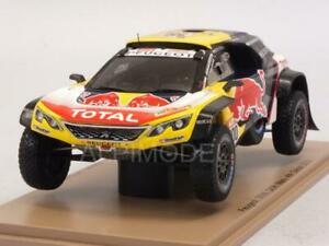 【送料無料】模型車 スポーツカー プジョー3008 dkrマキシ2018ダカールラリーpeterhanselcottr143スパークs5620peugeot 3008 dkr maxi 2018 dakar rally peterhanselcottr 143 spark s5
