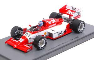 【送料無料】模型車 スポーツカー zakspeed841jパーマー19853011モナコgp 143モデルs1873スパークモデルzakspeed 841 j palmer 1985 30 11th monaco gp 143 model s1873 spark model