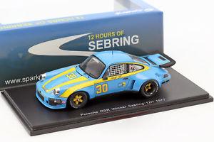 【送料無料】模型車 スポーツカー ポルシェカレラ#セブリングダイアーporsche 911 carrera rsr 30 winner 12h sebring 1977 dyer, frisselle 143
