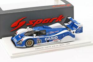 【送料無料】模型車 スポーツカー トヨタts01033 224hレマン1992raphanelアチスン143スパークtoyota ts010 33 2 24h lemans 1992 sekiya, raphanel, acheson 143 spark