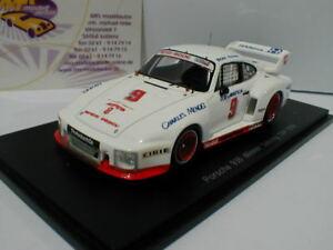 【送料無料】模型車 スポーツカー スパークポルシェセブリングレッドマンメンデスspark 43se78 porsche 935 9 winner 12h sebring 1978 redman, mendez 143