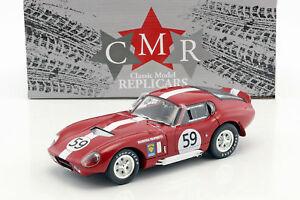 【送料無料】模型車 スポーツカー シェルビーコブラデイトナ#ルマンハーパーshelby cobra daytona 59 24h lemans 1965 harper, sutcliffe 118 cmr