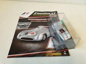 【送料無料】模型車 スポーツカー ネットワークメルセデススケールパニーニコレクションixo altaya mercedes w196 jm fangio 143 scale f1 panini collection 21