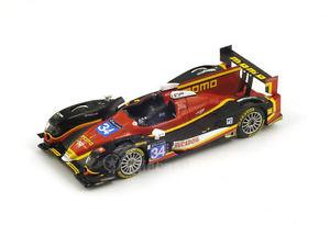 【送料無料】模型車 スポーツカー スパークジャッドルマンレースspark s4215 143 oreca 03rjudd 24 le mans lmp2 2014 race performance resin lm
