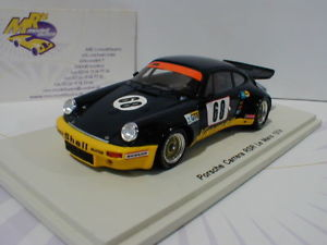 【送料無料】模型車 スポーツカー スパークポルシェカレラルマンチームクレーメルspark s5087 porsche 911 carrera rsr 24h lemans 1974 68 team kremer 143
