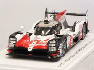 【送料無料】模型車 スポーツカー トヨタハイブリッドルマンナスパークtoyota ts050 hybrid winner le mans 2018 alonsobuemina 143 spark 43lm18