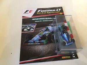 【送料無料】模型車 スポーツカー パニーニベネトンシューマッハスケールコレクションpanini f1 1994 benetton b194 schumacher 143 scale f1 collection 22