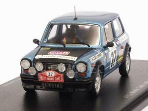 【送料無料】模型車 スポーツカー アバルトモンテカルロラリームートンスパークautobianchi a112 abarth monte carlo rally 1977 moutonwith 143 spark s3640