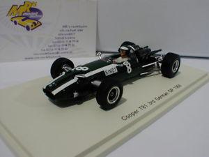 【送料無料】模型車 スポーツカー スパーククーパードイツフォーミュラヨッヘンリントspark s5291 cooper t81 8 3rd german gp formula 1 1966 jochen rindt 143