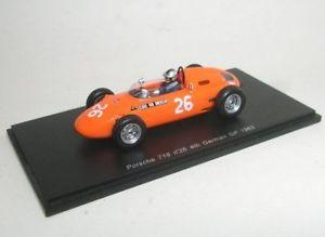 【送料無料】模型車 スポーツカー ポルシェ#ドイツグランプリモデルスパークモデルporsche g matters 1963 26 4th german gp 143 model s1862 spark model