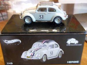 【送料無料】模型車 スポーツカー ホットホイールエリートモンテカルロhot wheels elite herbie goes to monte carlo 143