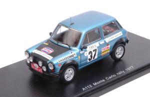 【送料無料】模型車 スポーツカー フィアットabarth a1123724モンテカルロ1977ミッシェルムートンfrancoise conconi 143fiat abarth a112 37 24th monte carlo 1977 michele mouton franc