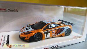 【送料無料】模型車 スポーツカー 143 truescaleミニチュアtsm2011マクラレンmp412c gt321マカオグランプリ143 truescale miniatures tsm, 2011 mclaren mp412c gt3, 21, macau grand p