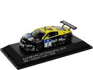【送料無料】模型車 スポーツカー アウディ#ニュルブルクリンクアプトコラードミーススパークaudi r8 lms 2 adac nurburgring 2010 abt collard luhr mies spark 143 5021018413