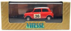 【送料無料】模型車 スポーツカー スケールオースティンモーリスミニクーパー#ラリーvitesse 143 scale ra233 austin morris mini cooper 36 rac rally conversion