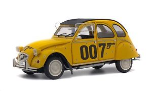 【送料無料】模型車 スポーツカー solido 1850012 citroen 2cv 6ダイカストジェームズボンド007モデルカー118solido 1850012 citroen 2cv 6 diecast model car from james bond 007 fil