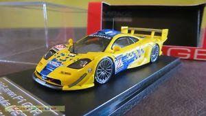 【送料無料】模型車 スポーツカー ミラージュマクラーレンロングテールパラボリカ#143 hpi mirage, mclaren f1 gtr long tail, parabolica 27, 1997 suzuka