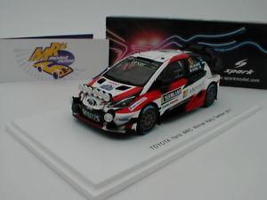 【送料無料】模型車 スポーツカー スパークトヨタヤリススウェーデンラリーspark s5165 toyota yaris wrc no 10 rally sweden 2017 latvala 143