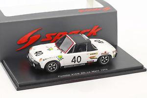 【送料無料】模型車 スポーツカー ポルシェグアテマラ#ルマンporsche 9146 gt 40 24 h lemans 1970 ballotlena, chasseuil 143 spark