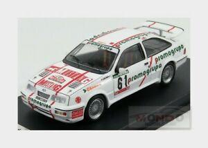 【送料無料】模型車 スポーツカー フォードシエラコスワース#ラリーポルトガルford sierra cosworth 61 rally portugal 1987 amorim teixeira trofeu 143 trral 73