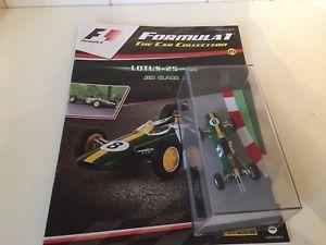 【送料無料】模型車 スポーツカー ネットワークジムクラークスケールコレクションixo altaya f1 1963 lotus 25 jim clark  143 scale f1 collection 15