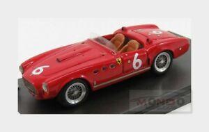 【送料無料】模型車 スポーツカー フェラーリスパイダー#ロードレースジョリーモデルferrari 340 spider 6 winner stoutield road races 1953 jolly model 143 jl6053 m