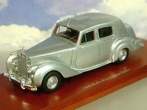 【送料無料】模型車 スポーツカー ロールスロイスtruescale miniatures 143 1949 rollsroyce silbern dawn in silber tsm114320
