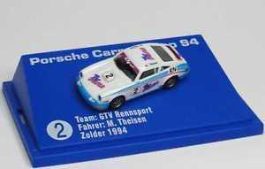 【送料無料】模型車 スポーツカー 187ポルシェ911カレラカップ1994gtvテレビ2theisen euromodell187 porsche 911 carrera cup 1994 gtv tv feature film 2 theisen euromodell
