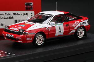 【送料無料】模型車 スポーツカー トヨタセリカグアテマラスウェーデンラリーマット#toyota celica gtfour 1992 1000 swedish rally *mats jonsson* hpi 8146 143