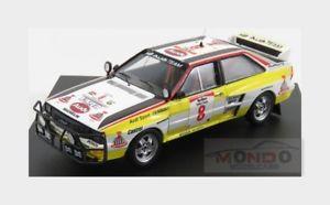 【送料無料】模型車 スポーツカー アウディクワトロ#サファリラリーaudi quattro 8 rally safari 1984 s blomqvist cederberg b trofeu 143 tr1630 mod