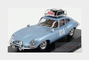 【送料無料】模型車 スポーツカー ジャガータイプクーペ#ラリーモンテカルロベストメートルjaguar etype coupe 104 rally montecarlo 1965 pinder pollard best 143 be9711 m