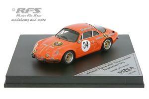 【送料無料】模型車 スポーツカー ルノーアルプスa110jagermeisteravusrennen1973143 trofeuスカラ43renault alpine a110jgermeisteravusrennen 1973 143 trofeu scala 43
