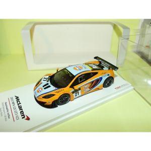 【送料無料】模型車 スポーツカー マクラーレングアテマラマカオグランプリワットモデルmclaren mp412c gt3 macau gp 2011 d watts tsmmodel 143 3me