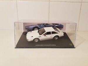【送料無料】模型車 スポーツカー ネットワークランボルギーニハラマスケールモデルカーixo altaya 1972 lamborghini jarama gts  white  143 scale model car